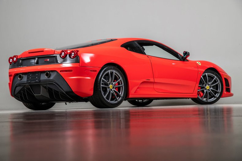 2009 Ferrari F430 Scuderia, RED, VIN ZFFKW64A090168815, MILEAGE 7755