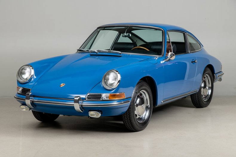 1965 Porsche 911 , GOLF BLUE, VIN 302431, MILEAGE 183