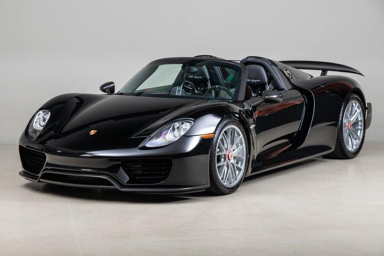 2015 Porsche 918 , BLACK, VIN WP0CA2A15FS800559, MILEAGE 628