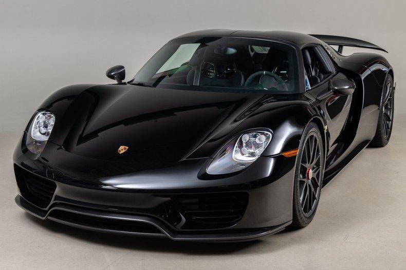 2015 Porsche 918 Spyder, BLACK, VIN WP0CA2A15FS800559, MILEAGE 628