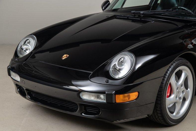 1997 Porsche 993 C4S , BLACK, VIN WP0AA299XVS321733, MILEAGE 24007
