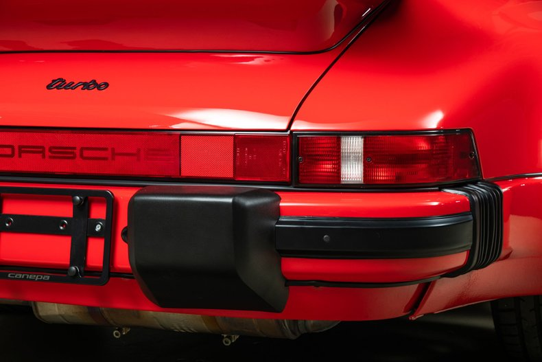 1988 Porsche 911 Turbo, RED, VIN WP0JB0933JS050456, MILEAGE 6747
