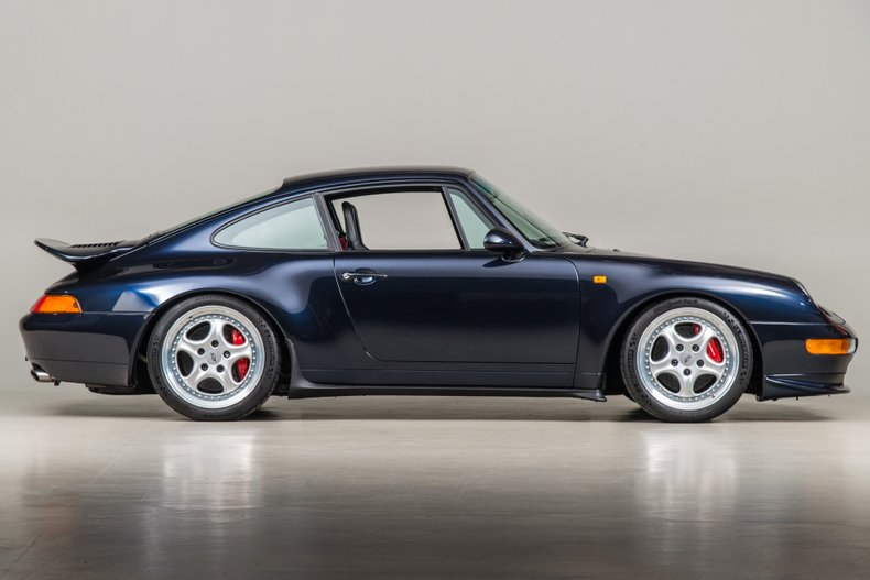 1996 Porsche 993 Carrera RS , MIDNIGHT BLUE, VIN WP0ZZZ99ZTS390067, MILEAGE 20160