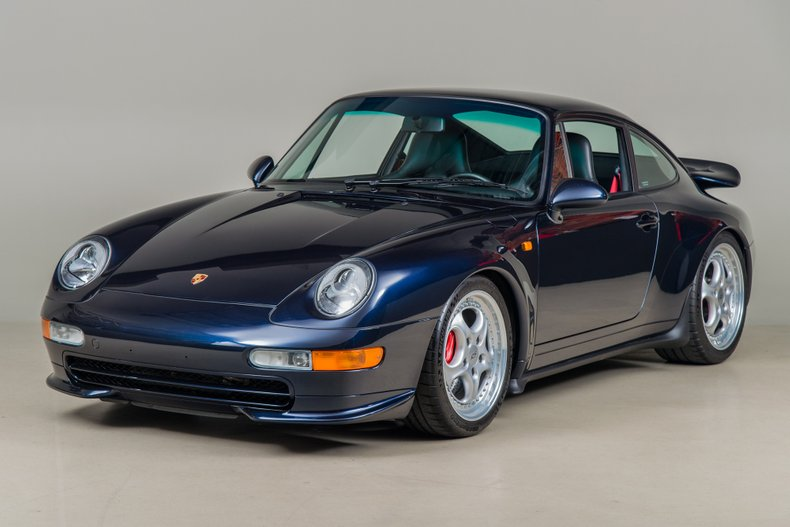 1996 Porsche 911 Carrera RS, MIDNIGHT BLUE, VIN WP0ZZZ99ZTS390067, MILEAGE 20160