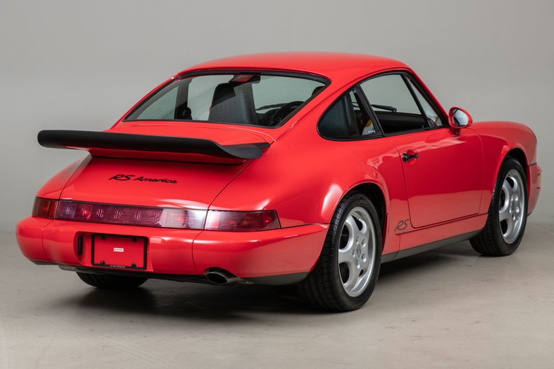 1993 Porsche 964 RS America , RED, VIN WP0AB2964PS419369, MILEAGE 30944