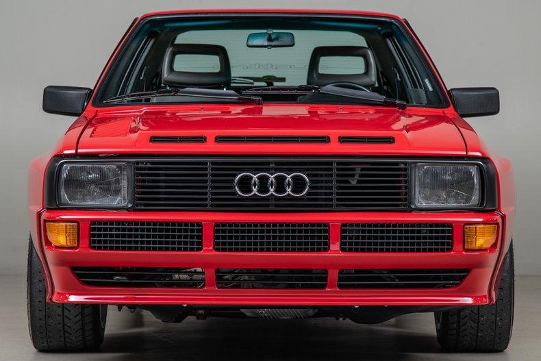 Audi Sport Quattro >> 1986 Audi Sport Quattro 5981