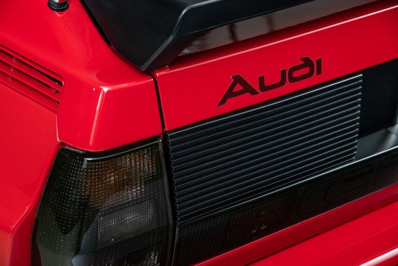 1986 Audi Sport Quattro , RED, VIN WAUZZZ85ZEA905058, MILEAGE 34047