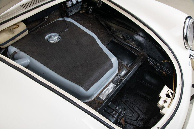 1963 Porsche 356B Coupe , WHITE, VIN 124802, MILEAGE 28713