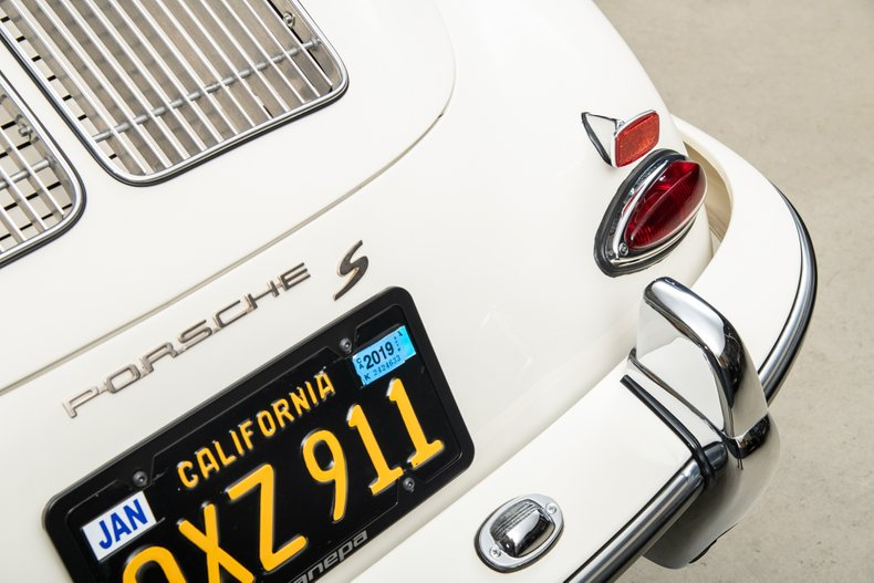 1963 Porsche 356B Coupe , WHITE, VIN 124802, MILEAGE 28713
