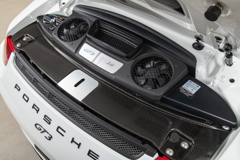 2015 Porsche GT3 , WHITE, VIN WP0AC2A93FS183945, MILEAGE 4845