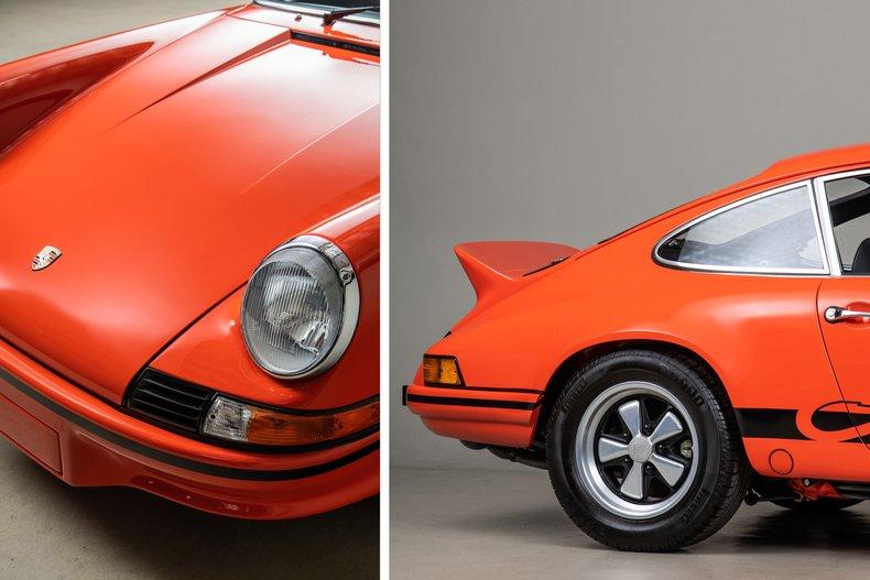 1973 Porsche 911 Carrera RS, TANGERINE, VIN 9113600788, MILEAGE 2376