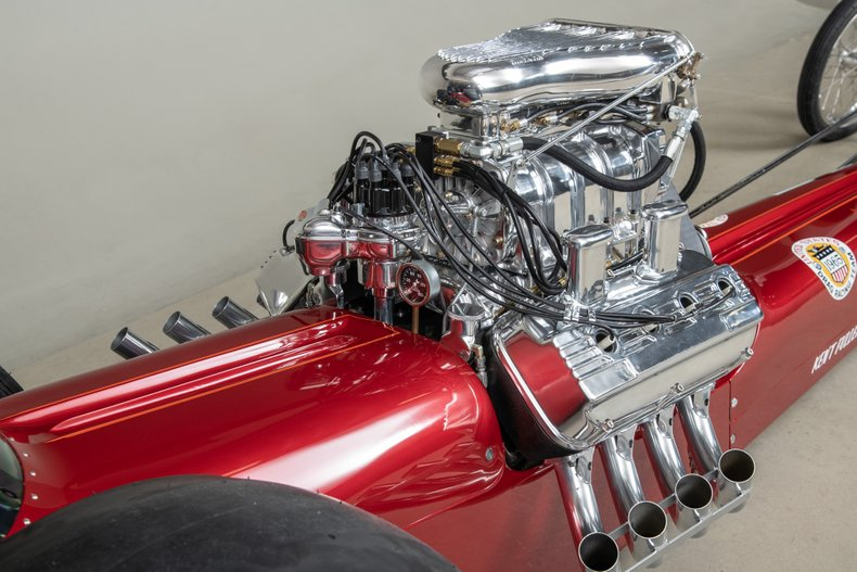 1964 Fuller/Roberts Starlite III Top Fuel Dragster, RED