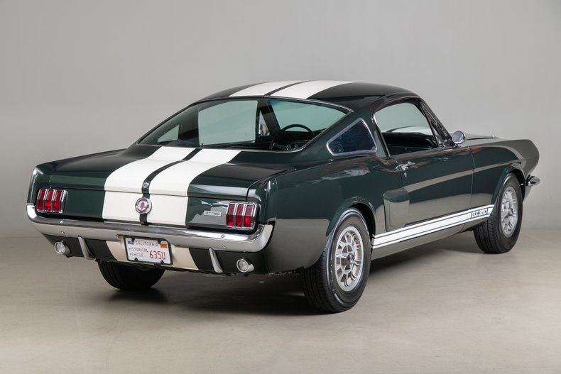 1966 Shelby GT350 , HIGHLAND GREEN METALLIC, VIN SFM6S625, MILEAGE 63929