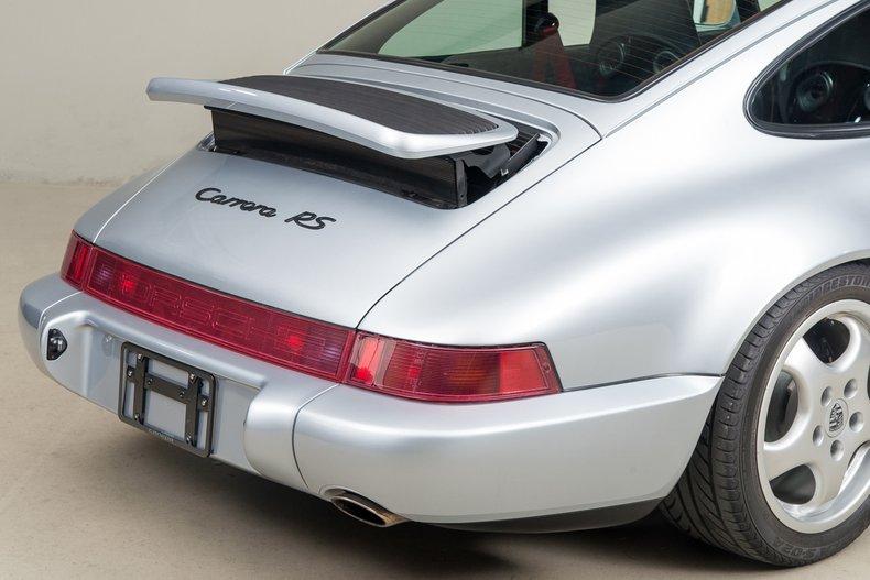 1992 Porsche 911 Carrera RS, POLAR SILVER METALLIC, VIN WP0ZZZ96ZNS491742, MILEAGE 14995