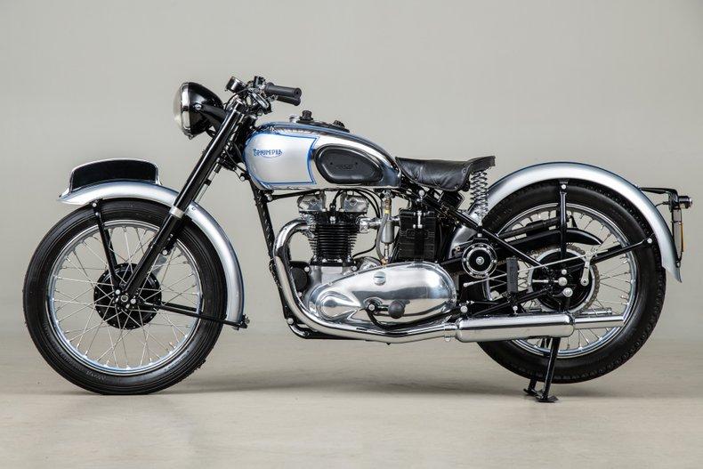1948 Triumph Tiger 100 _6016