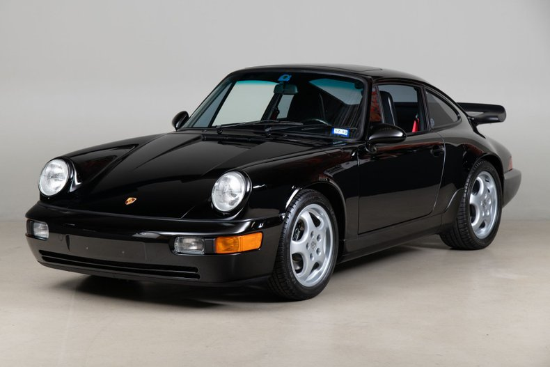 1993 Porsche 911 RS America, BLACK, VIN WP0AB2965PS418019, MILEAGE 25903