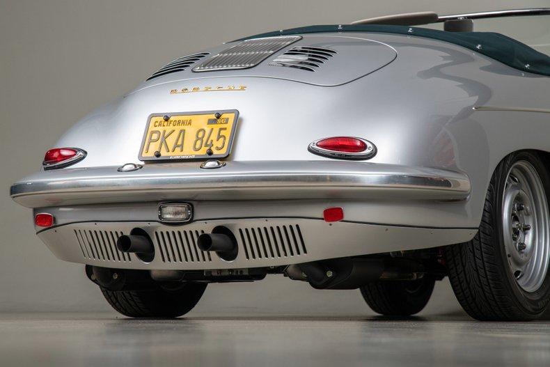 1960 Porsche 356 B Outlaw Roadster, SILVER, VIN 88295, MILEAGE 3775