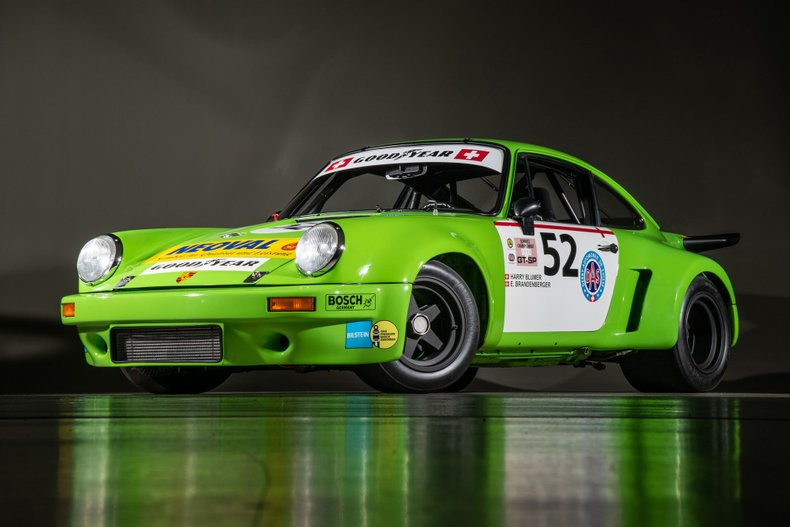 1974 Porsche 911 RSR, KELLY GREEN, VIN 9114609053, MILEAGE 39130