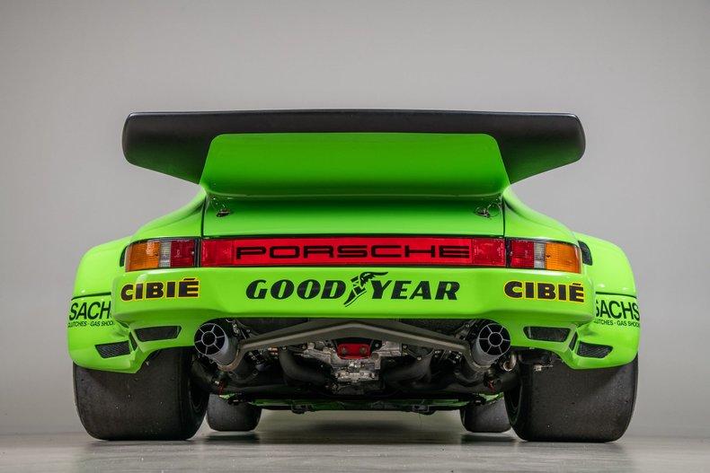 1974 Porsche 911 RSR, KELLY GREEN, VIN 9114609053, MILEAGE 39130