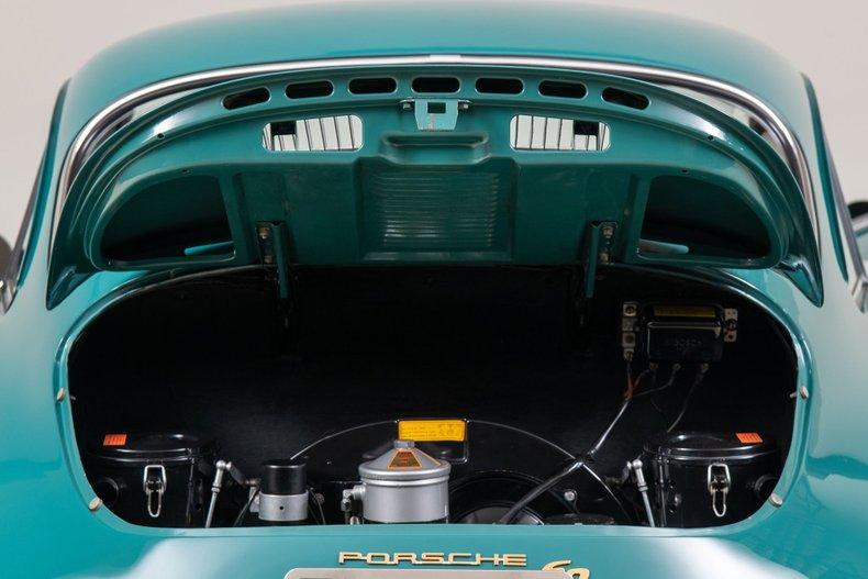 1963 Porsche 356 B , SMYRNA GREEN, VIN 213846, MILEAGE 45629