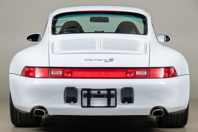 1998 Porsche 911 Carrera 4S, WHITE, VIN WP0AA2995WS321270, MILEAGE 16321