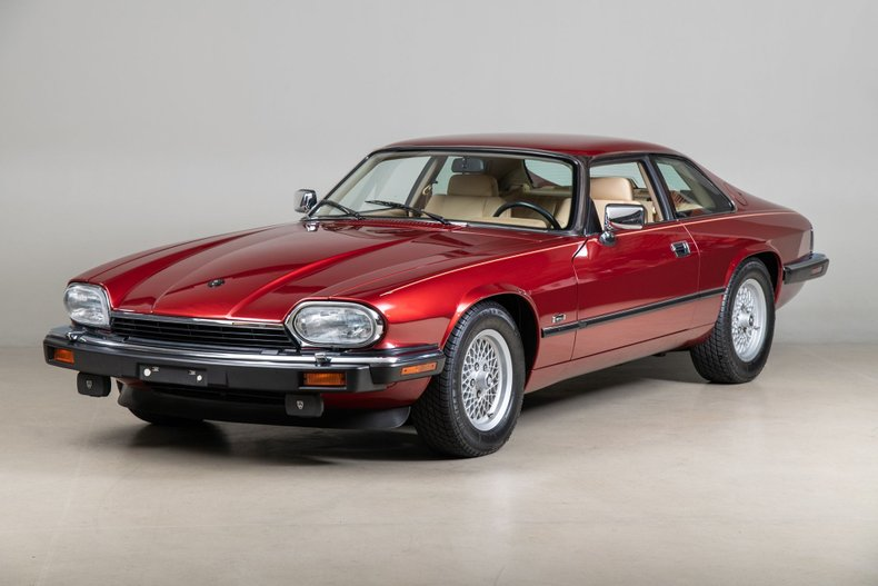 1992 Jaguar XJS , FLAMENCO RED METALLIC, VIN SAJNW5847NC184420, MILEAGE 22147