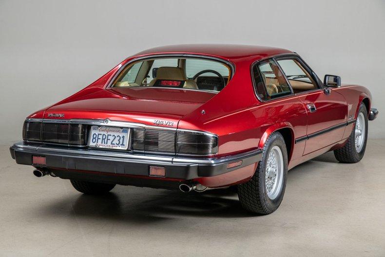 1992 Jaguar XJS , FLAMENCO RED METALLIC, VIN SAJNW5847NC184420, MILEAGE 22147