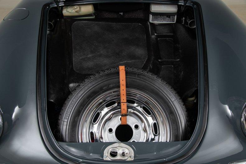 1965 Porsche 356C Cabriolet, SLATE GRAY, VIN 161726, MILEAGE 26170