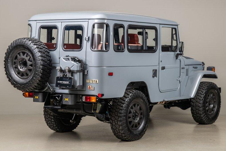 1984 FJ Company G43-S , CEMENT GRAY, VIN FJ43-113295, MILEAGE 2045