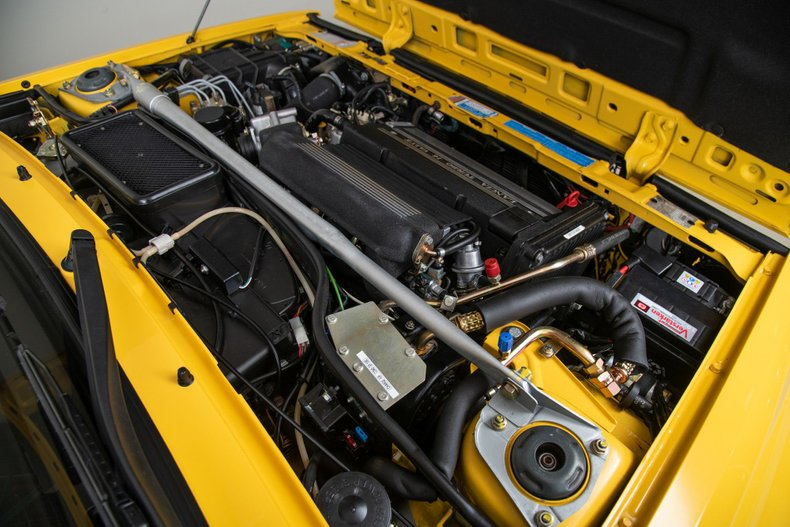 1992 Lancia Delta Integrale Evoluzione, YELLOW, VIN ZLA831AB000576428, MILEAGE 4075