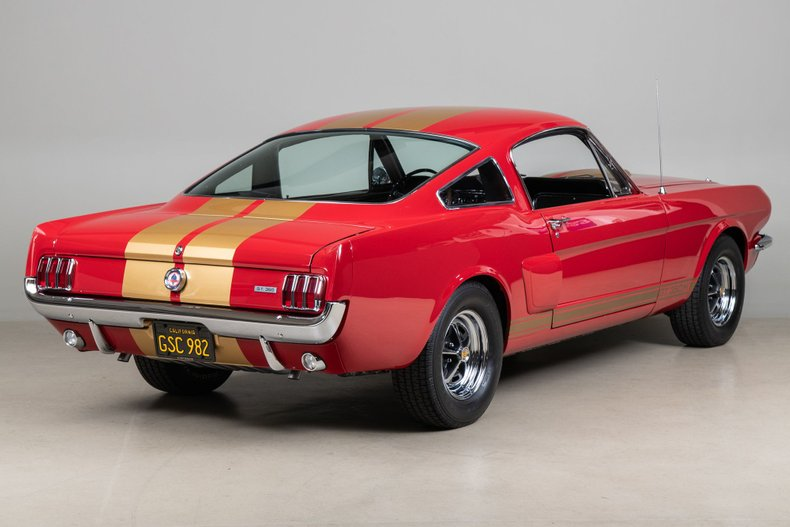 1966 Shelby GT350 H, RED, VIN SFM 6S977, MILEAGE 68846
