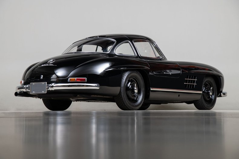 1955 Mercedes-Benz 300SL Gullwing, BLACK, VIN 1980405500156, MILEAGE 26576