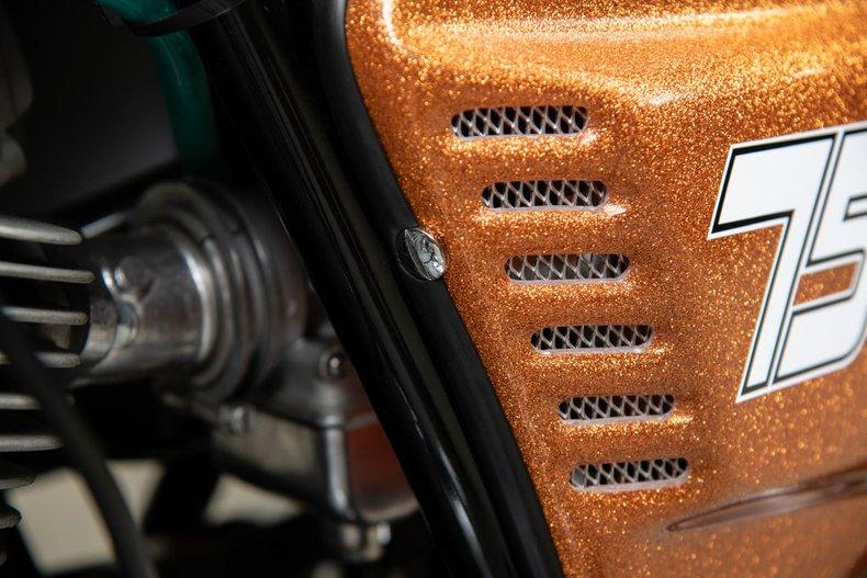 1972 Ducati 750GT , ORANGE METALLIC, VIN 750652, MILEAGE 27137