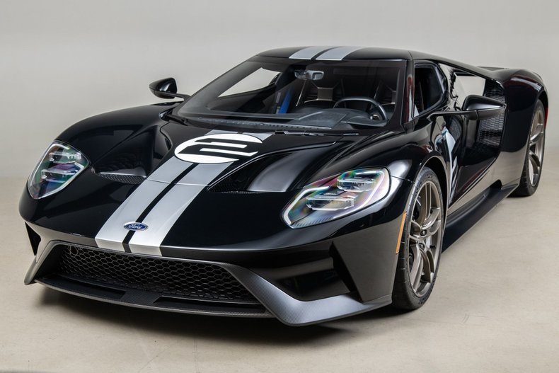 2017 Ford GT Heritage Edition, BLACK, VIN 2FAGP9CW1HH200025, MILEAGE 1316
