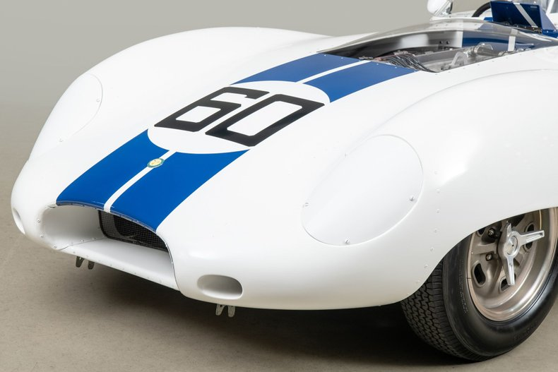 1959 Lister Costin Jaguar , WHITE, VIN BHL 123