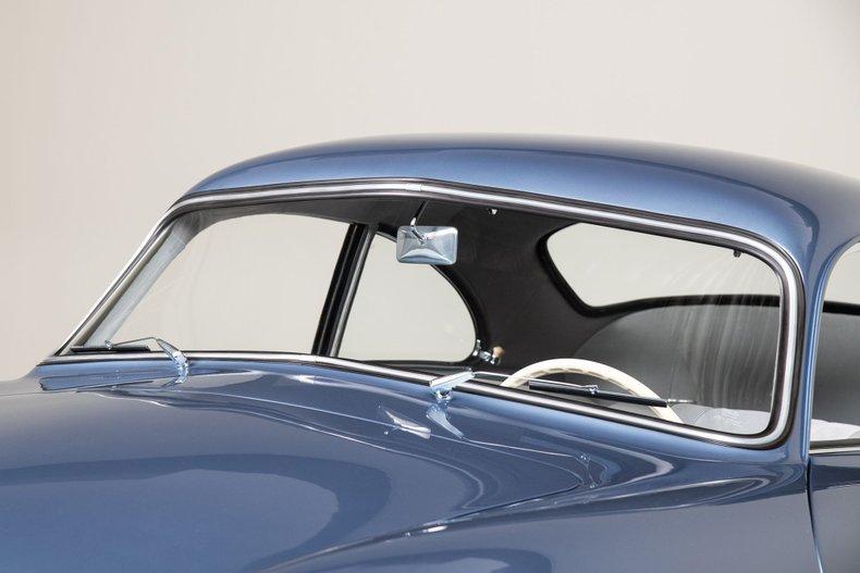 1953 Porsche 356 1500cc Pre-A, ADRIA BLUE METALLIC, VIN 50813, MILEAGE 67136