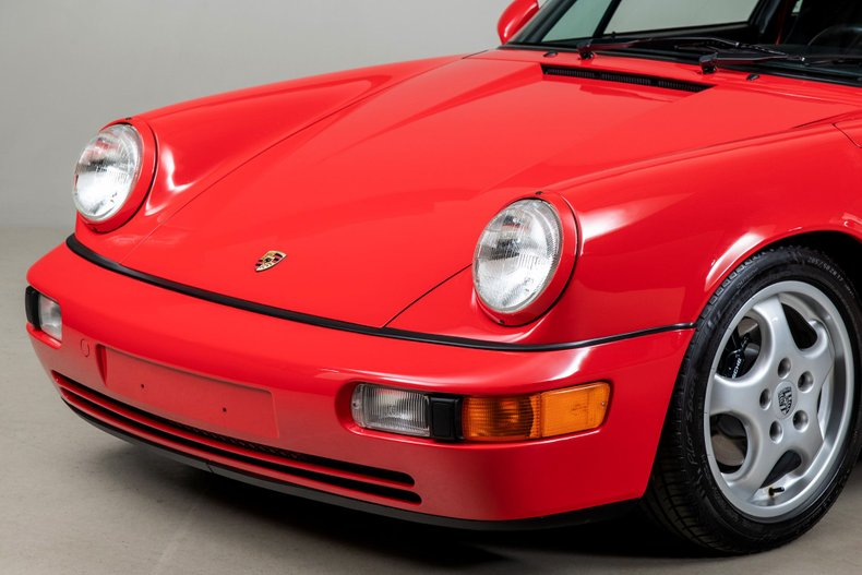 1993 Porsche 911 RS America, RED, VIN WP0AB2965PS419235, MILEAGE 19989