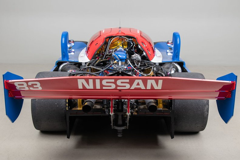 1990 Nissan NPT-90 , BLUE & RED, VIN 90-01