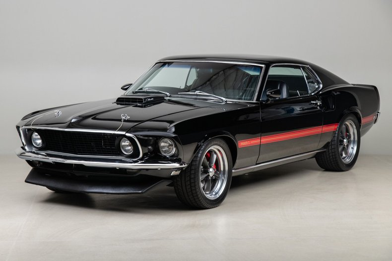 1969 Ford Mustang Mach 1 , BLACK, VIN 9T02R178641, MILEAGE 88335