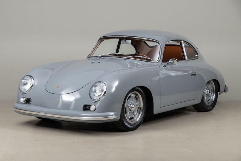 1957 Porsche 356 A Outlaw, NARDO GRAY, VIN 58179, MILEAGE 4412