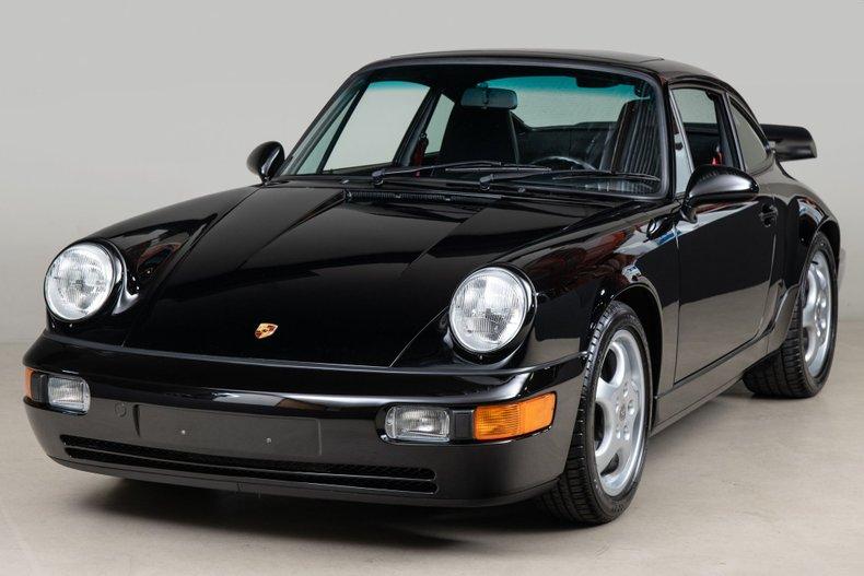 1993 Porsche 911 RS America, BLACK, VIN WP0AB2965PS418019, MILEAGE 25960