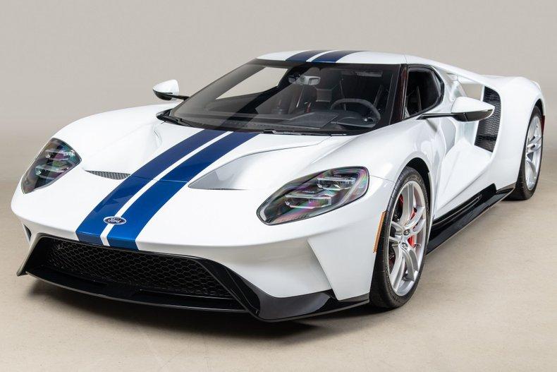 2017 Ford GT , WHITE, VIN 2FAGP9CW3HH200043, MILEAGE 1336