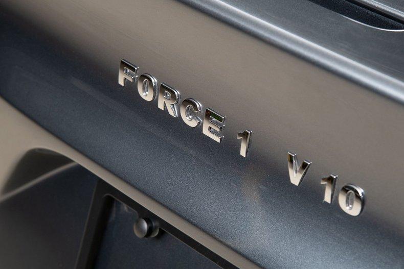 2018 VLF Force 1 V10 , GRAY, VIN 1C3ADEAZ0FV510187, MILEAGE 1078