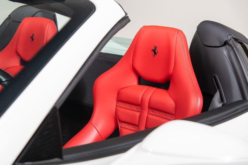 2017 Ferrari 488 Spider, WHITE, VIN ZFF80AMA6H0220249, MILEAGE 2713
