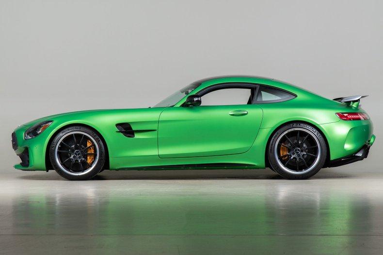 2018 Mercedes-AMG GT R , GREEN, VIN WDDYJ7KA3JA018511, MILEAGE 2021