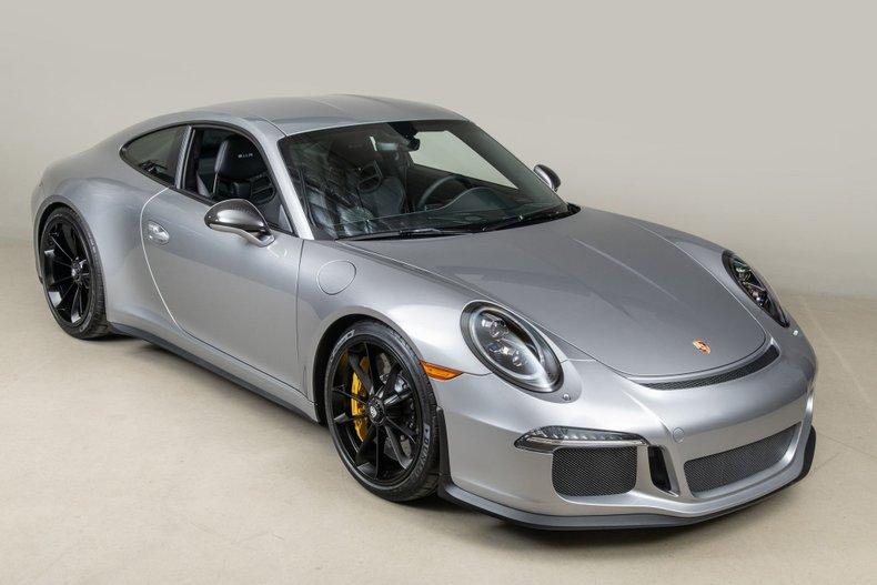 2016 Porsche 911R , GT SILVER, VIN WP0AF2A95GS195295, MILEAGE 294