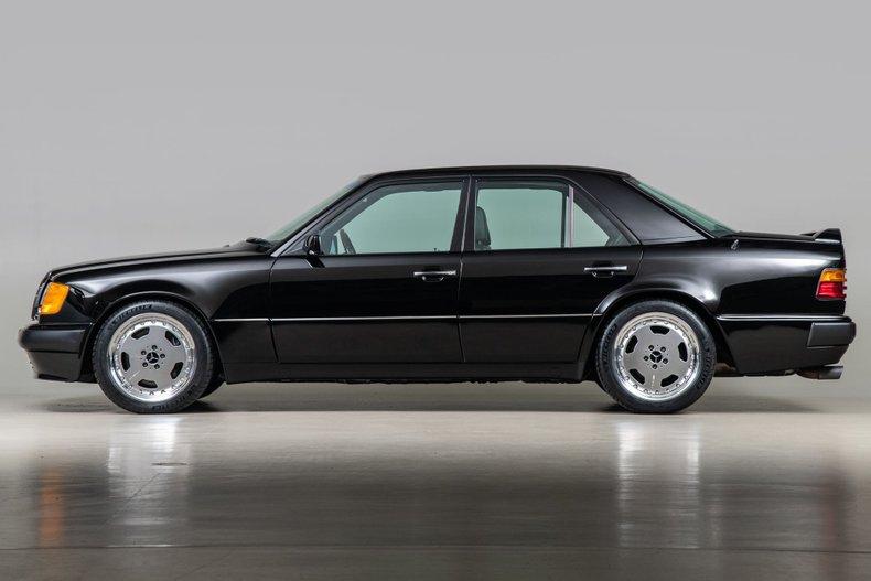 1993 Mercedes-Benz 500E , BLACK, VIN WDBEA36E2PB987138, MILEAGE 68465