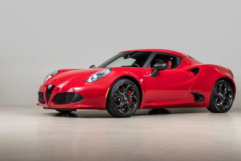 2017 Alfa Romeo 4C , RED, VIN ZARBAAA44HM244998, MILEAGE 1156