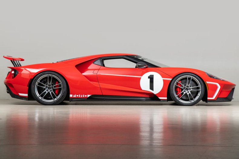 2018 Ford GT , RED, VIN 2FAGP9CW7JH100050, MILEAGE 12