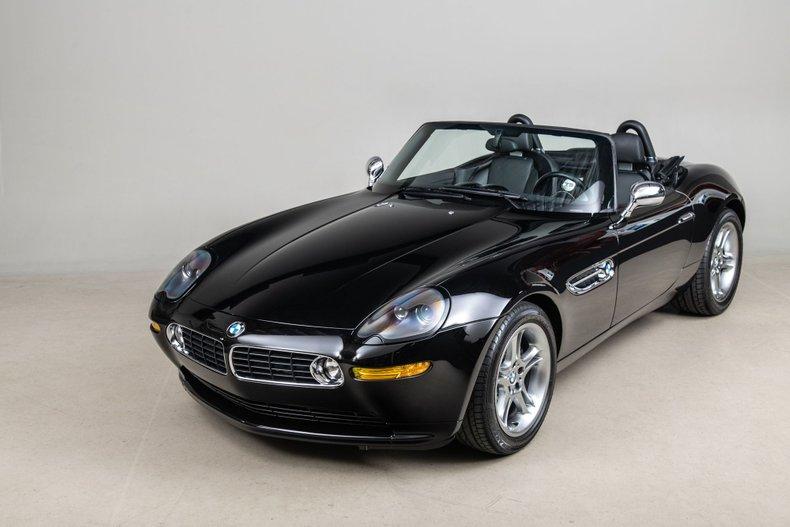 2002 BMW Z8 , BLACK, VIN WBAEJ13492AH61789, MILEAGE 15930